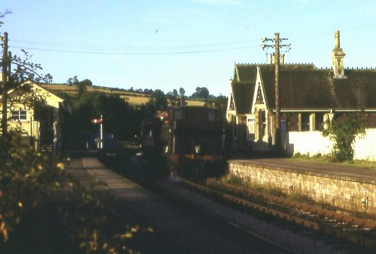 Cadeleigh Station 1963